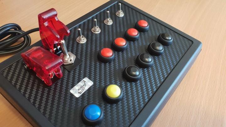 ALMAR SKRS Button Box urządzenie sterujące do gier ATS, ETS itp